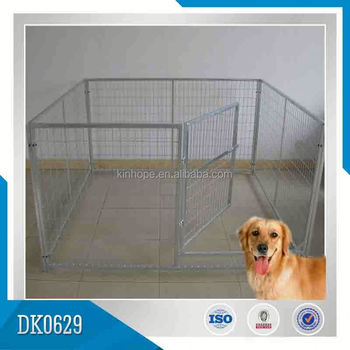Chain Link Dog Park Pipe Dog Kennel