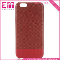 mixe colors magnetic closure leather flip cover case for iphone 6/6plus