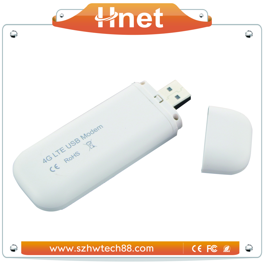 100M Cat 3 LTE 4G Wilress USB Dongle with SIM Card TF Card Slot