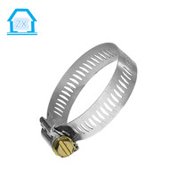 Discount Leisure 44-63mm Stainless Steel Flexible Pipe Hose Clip