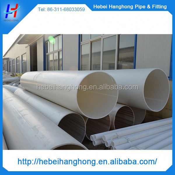 Trade Assurance Manufacturer Diameter 700mm large plastic tube, plastic pvc tube
