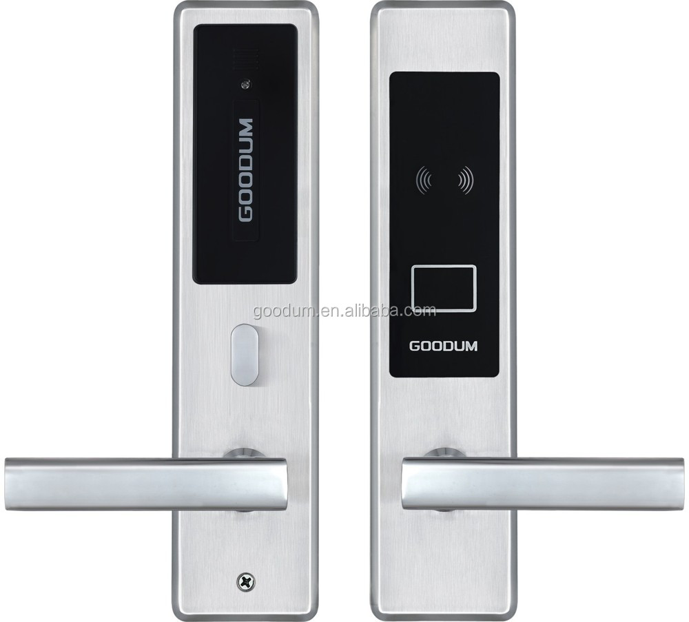 Funiture lock stainless steel intelligent smart RFID electric rfid hotel lock