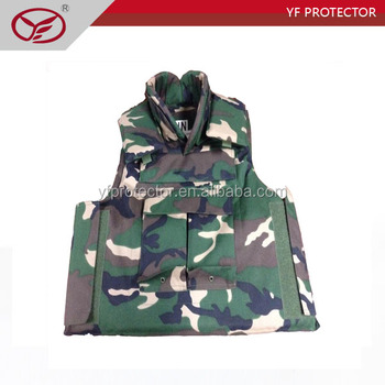 Tactical full protection bullet proof vest/body armour
