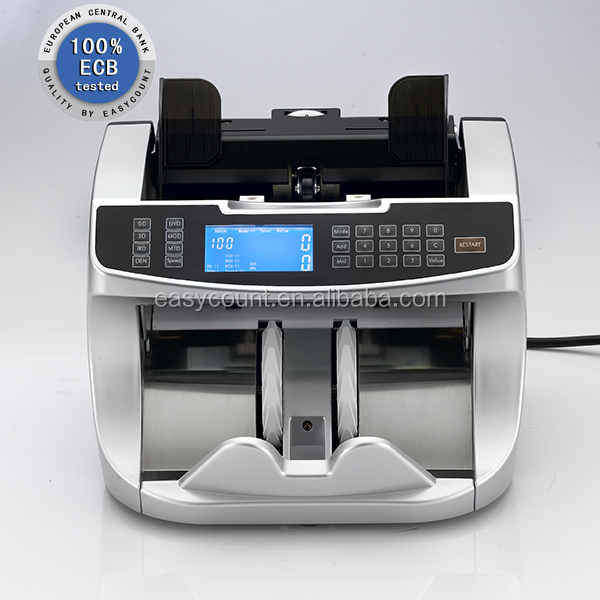 EC900 Automatic Counterfeit Money Counting Machine For Worldwide