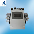 Professional 6 in1 Lipo Laser Ultrasonic Cavitation RF weight loss Machine for salon use