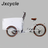 front loading 3 wheel cargo bike with pedals