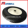 China Made 4.00-8 PU Solid Wheels for Wheelbarrows 16""