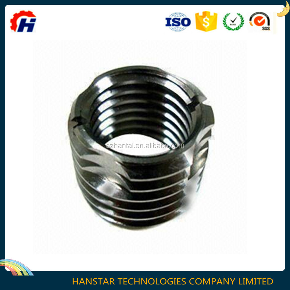 CNC turning electrical short male flange steel/SS/brass bush/sleeve for auto parts