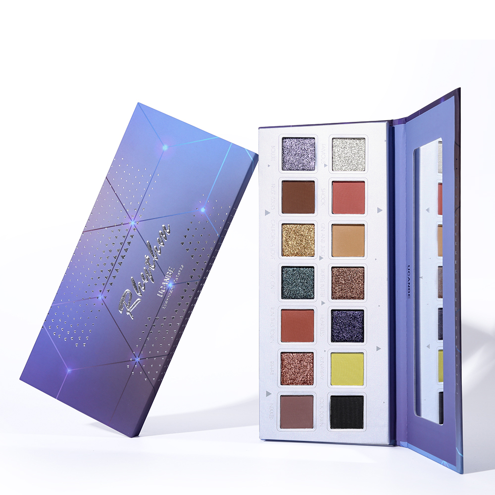 <strong>Eye</strong> Use and Powder Form Private Label Eyeshadow 14 colors <strong>eye</strong> shadow Palette private label