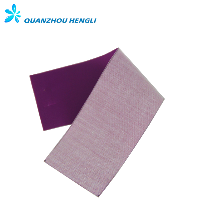 High light reflective knit fabric for uniform high visibility warning vest