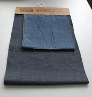 50%cotton 50%TR stretch double-woven denim fabric for jeans