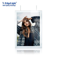 AF17 a4 light in the box double sides clip led light box for promoting advertising led light box