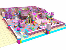popular new design Indoor playground Theme Park