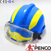 Reinforced Composite Shell Fire fighting Rescue Helmet