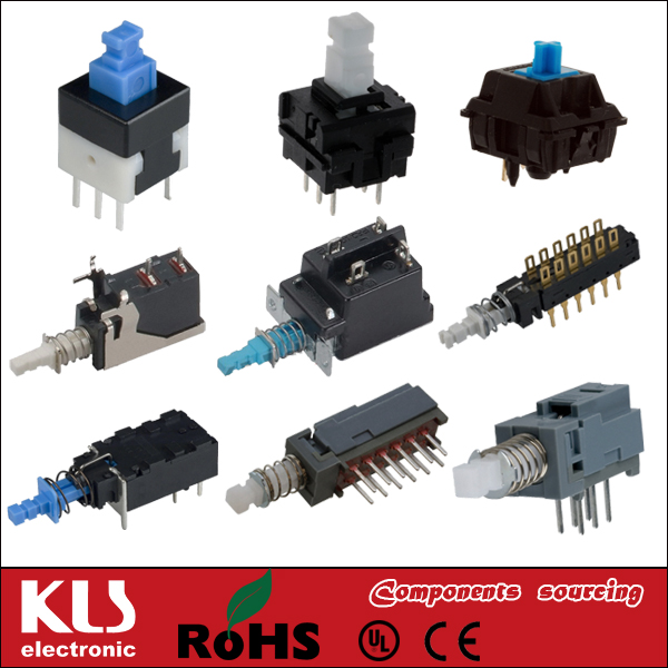 Good quality pcb push button control switch ip66 UL VDE CSA CE ROHS 86 KLS Brand