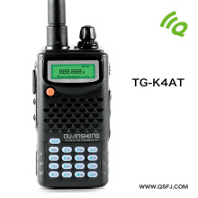 Wholesale new version walkie talkie VHF136-174MHz & UHF400-520MHz UV5R dual band dual display for walky talky