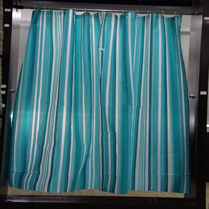 2017 High Quality Fashionable Pvea Stripe Shower Curtain Buy High Quality Shower Curtain High