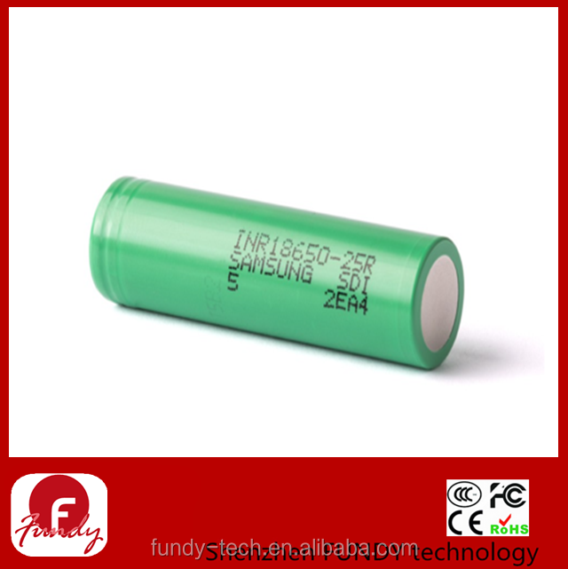 Factory Price samsung lithium ion battery samsung sdi 18650 samsung 18650 25r Rechargeable battery