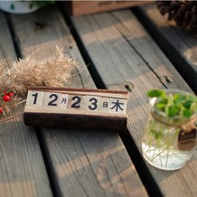 N534 new hot sale China fashion handmade cheap wholesale decoration gift custom Christmas ornament wooden advent calendar