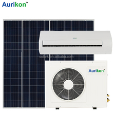 Solar Power Source and New Condition 100% Solar Air Conditioner 1HP 9000btu 48vdc