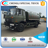 Dongfeng off-road 4wd Military Water Tanker Truck 10m3