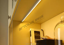 Super thin low voltage recessed linear led light, slim led bar for cabinet furniture