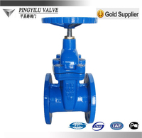 Wedge cast iron gate valve water parts