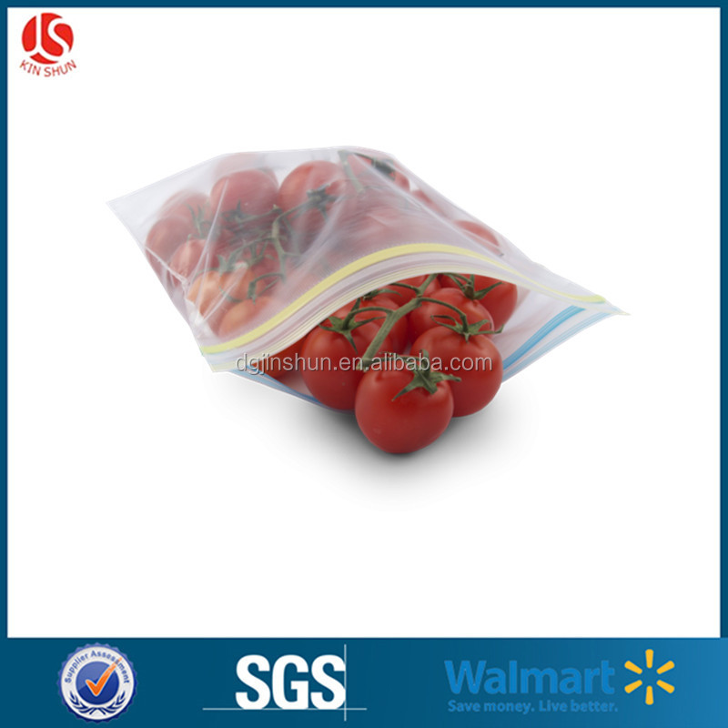 Accept custom order and oker brand security waterproof feature plastic ldpe ziplock food storage packing bag
