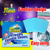Wholesale Chemical cleaning product of clothes laundry sheet