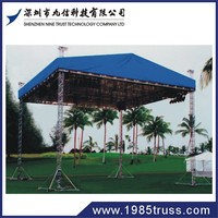 exhibition trade show aluminum roof truss outdoor stage lighting truss design