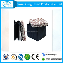 China best manufacturer non woven folding storage stool
