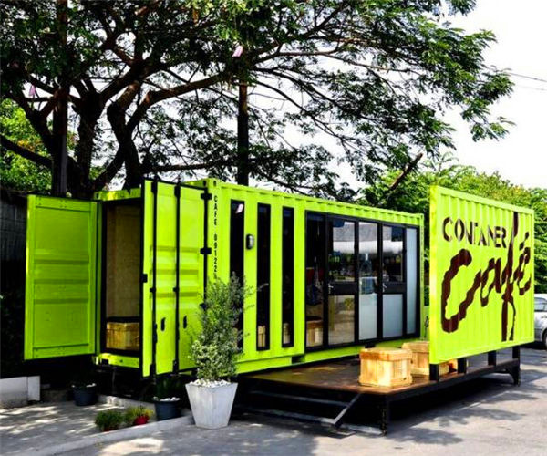 Professional shipping container house/flat pack container house/house container
