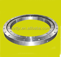 single row crossed rollers slewing bearing with nongeared