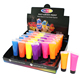 Midnight Glow Washable Non-Toxic UV/Backlight Reactive Neon Fluorescent Face and Body Paint Glow Kit Display