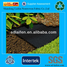 Landscape and home usage super black PP weed control fabric