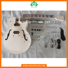 GK046 Hollow body Maple Neck Electric Guitar KIts