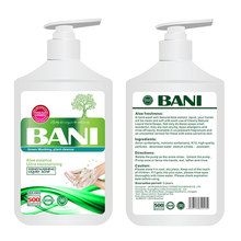 Hand washing waterless alcohol hand sanitizer gel
