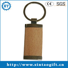 Customized wood promotion key chain with your LOGO