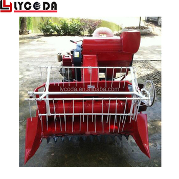 Wheat rice paddy cutting machine grain harvest cutting machine