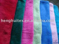 100% Polyester Printed Coral Fleece Fabric