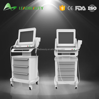 CE approval wrinkle removal hifu face lift vertical beauty machine