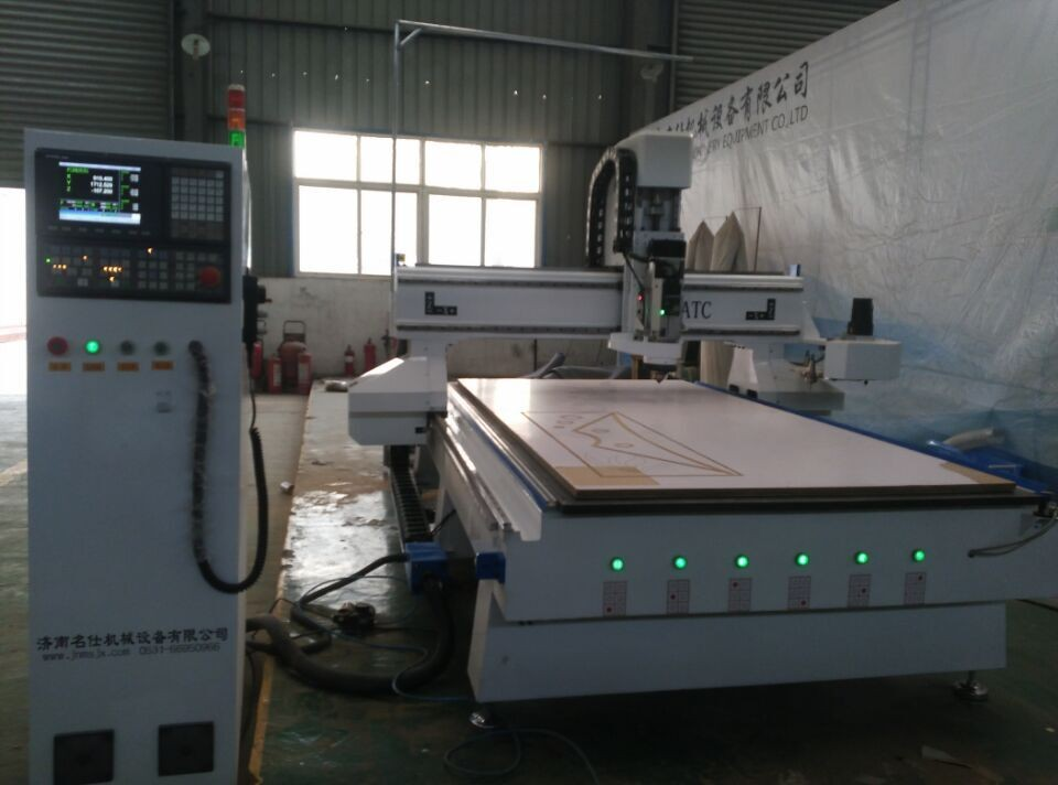 Quality cnc router machine atc 1325 with 8 tools