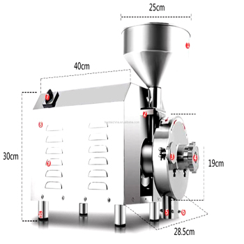 Electric Grinder Coffee / Pepper Grinding Machine for Sale