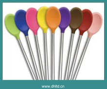 Heat Resistant Household and Kitchen Silicone Spoon.