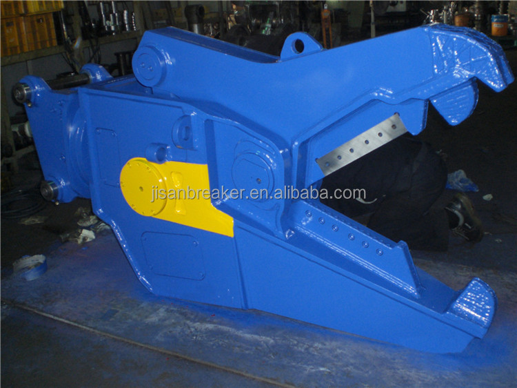 hydraulic wood shears for excavator