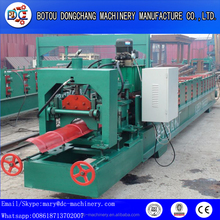 metal ridge cap/iron ridge sheet /color steel roof tile roll forming machine by manufactures suppliers