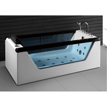 fashion bathroom acrylic massage bathtub with seat