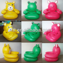Adorable bear inflatable sofa, inflatable corner sofa