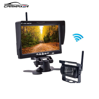 wireless camera transmitter and receiver for car