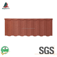 bond type stone coated metal roofing tile